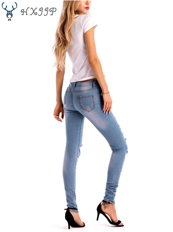 Summer Fashion Vintage Flower Embroidered High Waist Jeans Woman Blue Pencil Slim Skinny Designer Female Denim Pants Mom Jeans