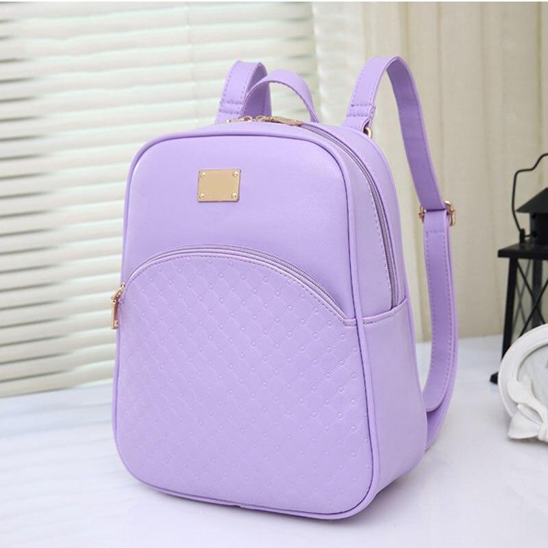 New Women's PU Leather Backpacks Fashion Daypack Girl School Bag Travel Casual Bags  LXX9 рюкзак girl pu yt00172334
