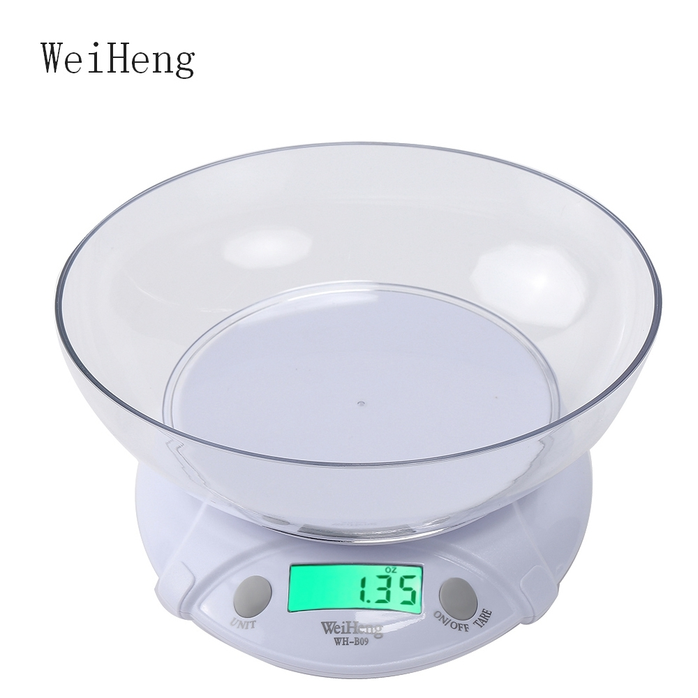 WeiHeng Balanza Digital para Alimentos Die Postal Balanza de ...