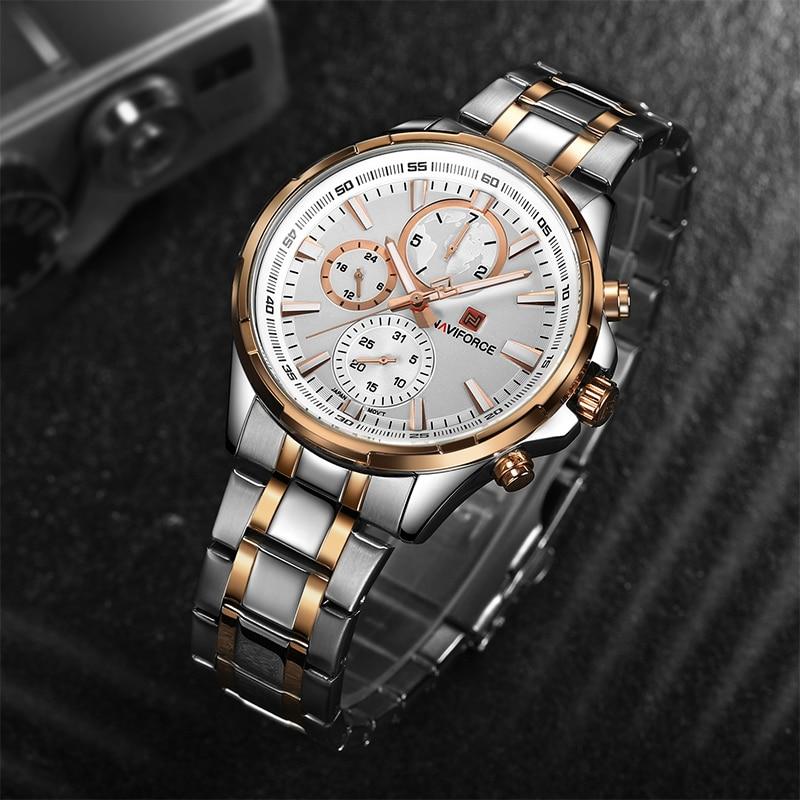 NAVIFORCE Moda Relojes Casuales Hot Brand Hombres Deportes Reloj - Relojes para hombres - foto 4