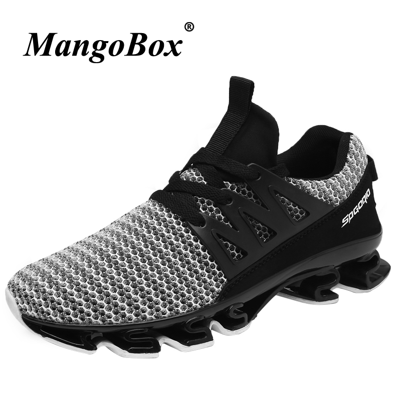2018 Running Shoes for Men Spring Summer Mens Sports Shoes Running Trainers Black Red Training Shoes Breathable Men Runners cross training shoe