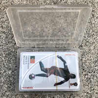 2018 Russia World Cup 56 cards/set Commemorative Poker PVC plastic waterproof star playing cards World Cup Commemorative poker