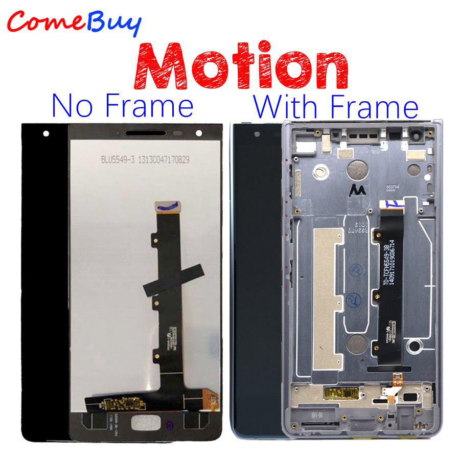 For 5 5 Blackberry Motion LCD Display Touch Screen Digitizer Assembly For BlackBerry Motion LCD With