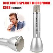 цена на 2019 Hot Selling Bluetooth Wireless Microphone Karaoke Mic Singing Recorder KTV Player Bluetooth Music Microphones