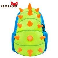 NOHOO בעלי חיים דינוזאור גן ילדים שקיות תינוק ילדי Neoprene עמיד למים תיקי בית ספר לילדים בני בנות בית ספר קריקטורה Bag-31