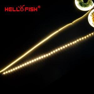 Image 5 - LED Strip Light LED tape backlight 12V 5m 600 LED 5054 300 LED strip kitchen white warm white