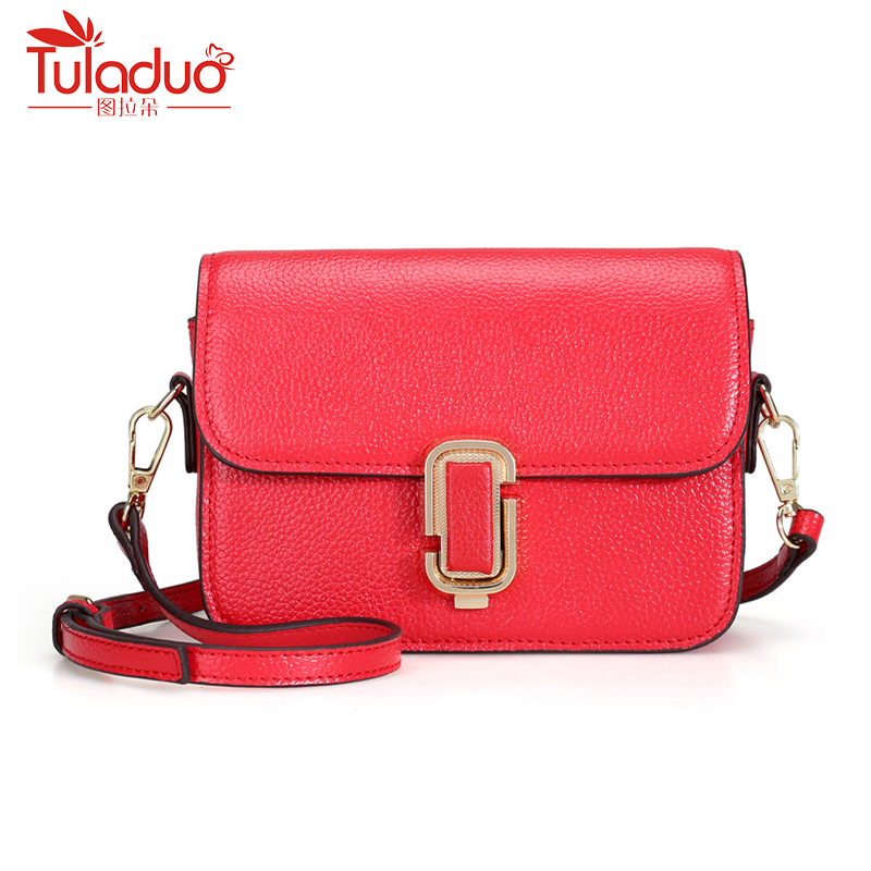 Hot Sale Women Messenger Bag Guaranteed 100% Genuine Leather Famous Brand Flap Bags for Girls Casual Crossbody Bags For Women jmd guaranteed genuine leather bag crossbody bag flap bag messenger bag for business men 1038q