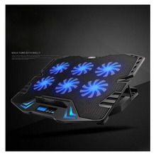 Laptop computer Cooling Pad Cooler USB Fan with 6 Cooling Followers K8 For 12-15.6 inch Pocket book Topmute Cooling Cracket Base Pad