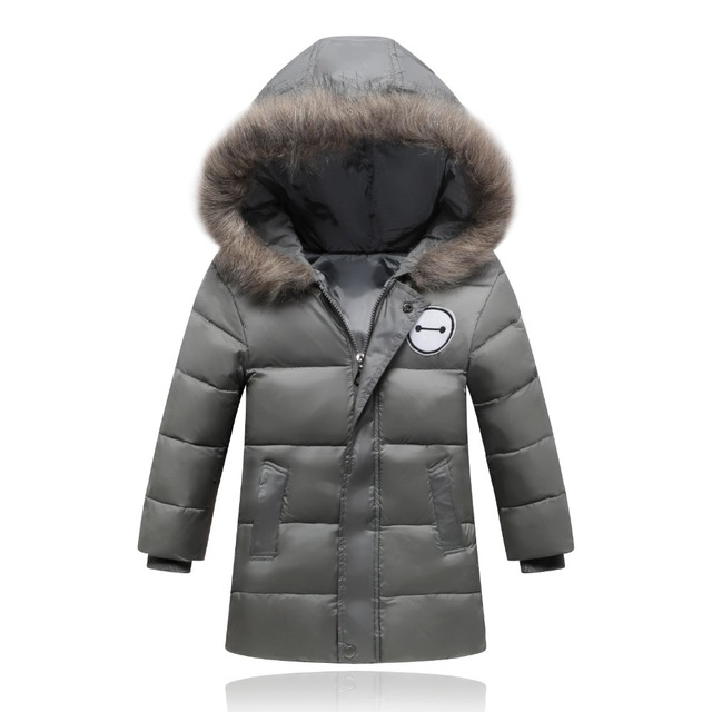 Winterjas.New Boys And Girls Winter Jacket Thickness Unisex Winter Coat