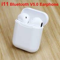 I11TWS Wireless Earphones Mini headsets Bluetooth 5.0 Headphones Wireless Earbuds For Mobile Phones Earpiece Sport Earphones Aid