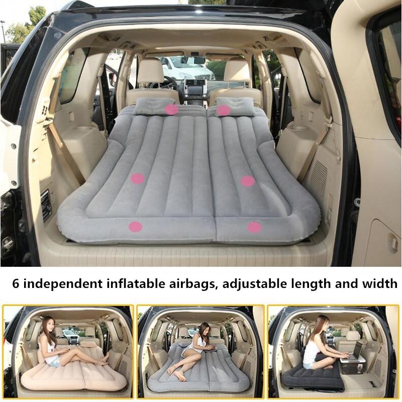 CARSUN 175*135CM cama de coche Camping colchón Para coche Inflable Auto viaje cama Colchon Inflable Para Auto colchón Para coche Inflable