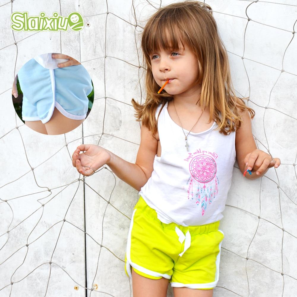 3-13Y Pure Color Kids Boys Girls Sport Underwear Shorts Panties Soft Cotton Baby Boxer Children's Clothes Teenager Underwear
