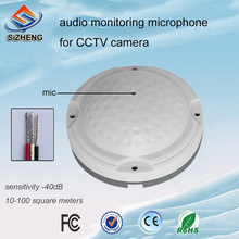 SIZHENG COTT-QD25 High quality CCTV microphone audio monitoring catch the clear voice for vedio surveillance system
