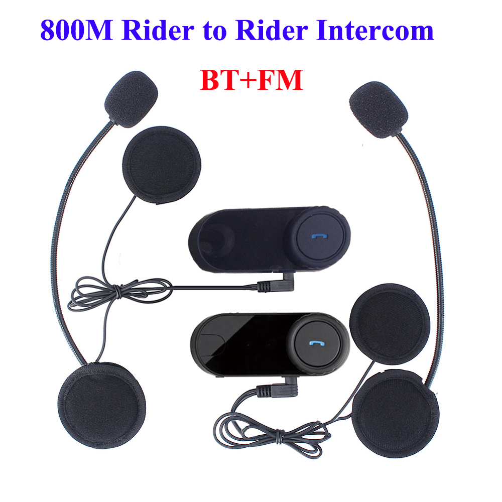 Wireless Intercom Headsets For Motorcycles