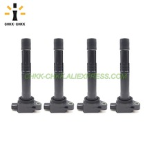 4PCS CHKK-CHKK Ignition Coils OEM 30520-R40-007 Suitable for Honda Accord Civic Crosstour CR-V Acura ILX 00-15 I4 2.4L chkk chkk new ignition coils oem 30520 r40 007 suitable for honda accord civic crosstour cr v acura ilx 00 15 i4 2 4l