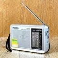 Portátil de Bolsillo de Radio FM 76-108 AM 530-1600 KHz Receptor Mundial Construido en Altavoz