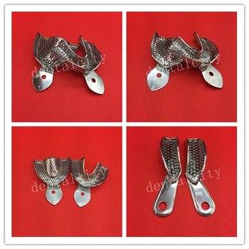 Yeni Diş Tepsileri Protez Aletleri Paslanmaz çelik Gösterim Tepsisi