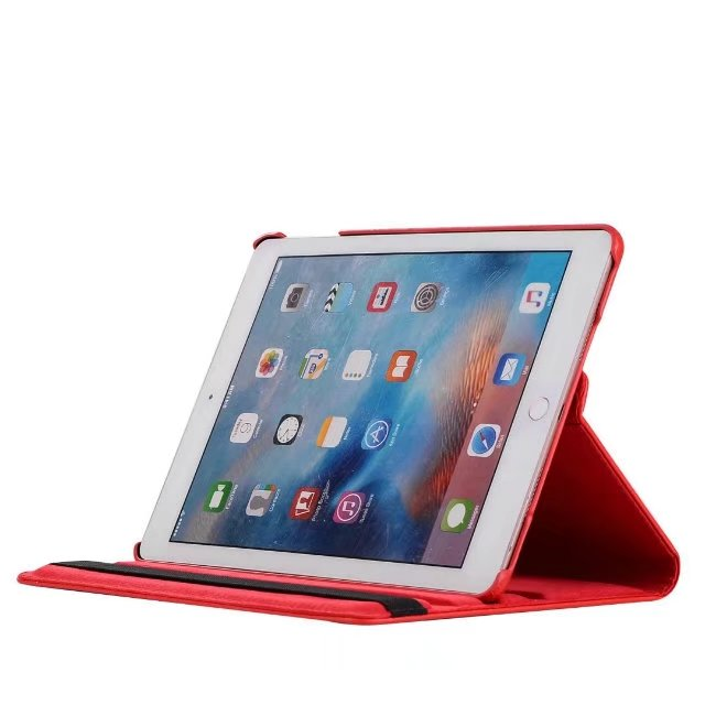 360 vrtljiv ovitek za iPad 9.7 2017 Novi model PU usnjen ovitek za - Dodatki za tablične računalnike - Fotografija 5