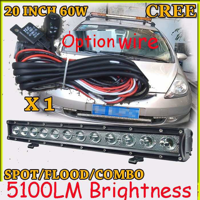 Free  DHL/UPS/FEDEX ship!  20 36W,5100LM,10~30V,6500K,LED working bar;led offroad bar,Option wire harness,SUV,LED bar light free dhl ups fedex ship 41 150w 13000lm 10 30v 6500k led working bar led offroad bar option wire harness suv led bar light