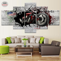 5 Piece Canvas Art Oil Painting Modular Painting Wall Pictures For Living Room Poster Canvas HD