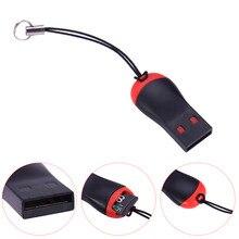 Передачи данных Тонкий USB 2.0 Mini Micro SD T-Flash Памяти TF Card Reader Мини-Высокое качество Горячей Продажи