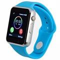 Bluetooth smart watch suporte cartão sd sim eletrônica wrist watch phone para android smartphone azul verde rosa correia pk q18