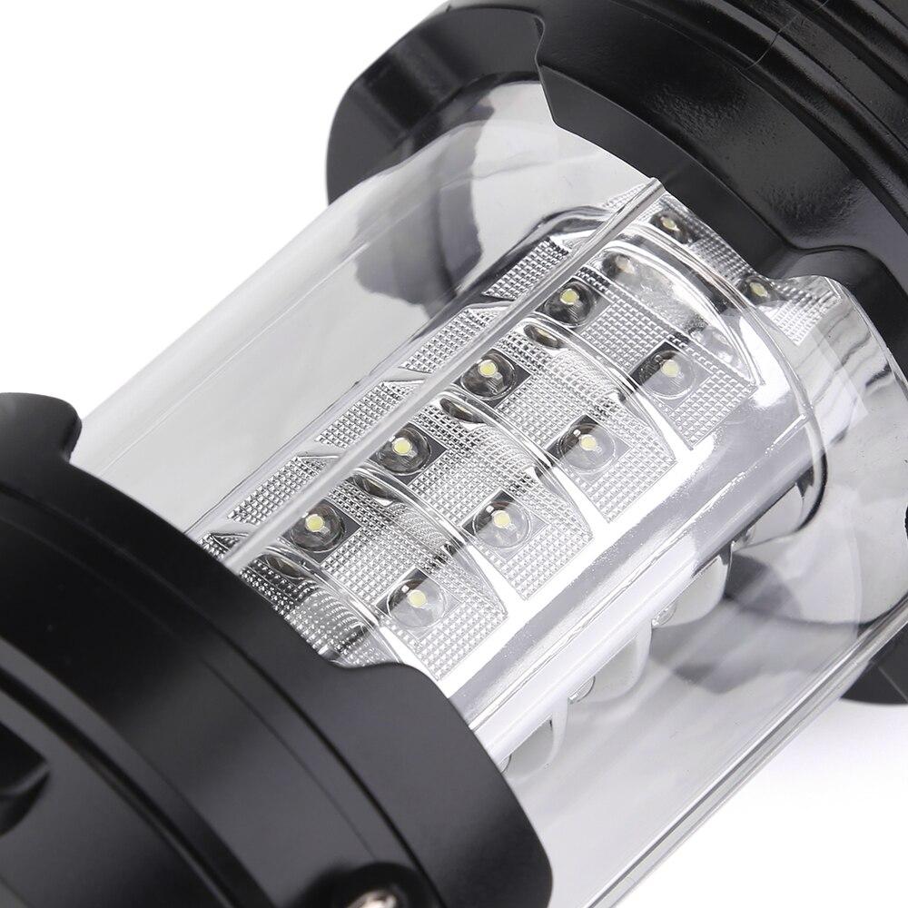 Очень яркий 30 светодиодов Портативный Фонари мини Torch Light Батарея работать складной фонарик для наружного Пеший Туризм Кемпинг Рыбалка