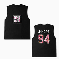 ALIPOP Kpop BTS Bangtan Boys YOUNG FOREVER Album Sleeveless Shirts Hip Hop Casual Clothes Tshirt T