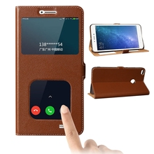 YUCOVS For Xiaomi Max 2 luxury Magnet Genuine Leather Case For Xiaomi Mi Max2 MaX 2  Mobile Phone Bag Wake Up Sleep Protector