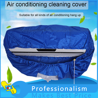 2 4M 3 2M Air Conditioner Cleaning Cover Dust Washing Waterproof Clean Protector Hose For 1