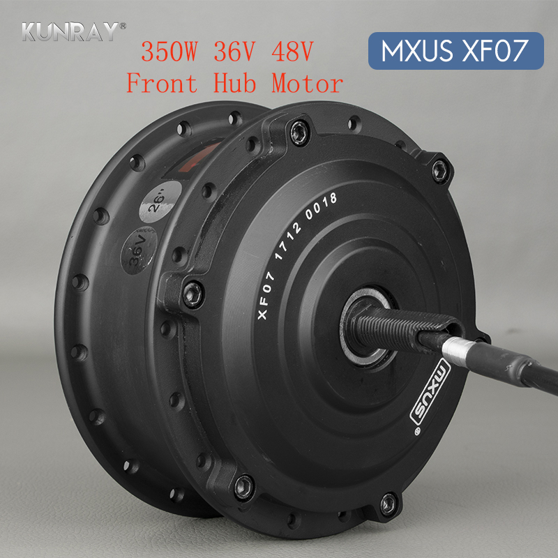 36V 48V 350W Electric Bicycle Brushless Gear Hub Wheel Motor 26 Inch - 28inch 700C Bike Conversion Kit Front Wheel Spoke Motors