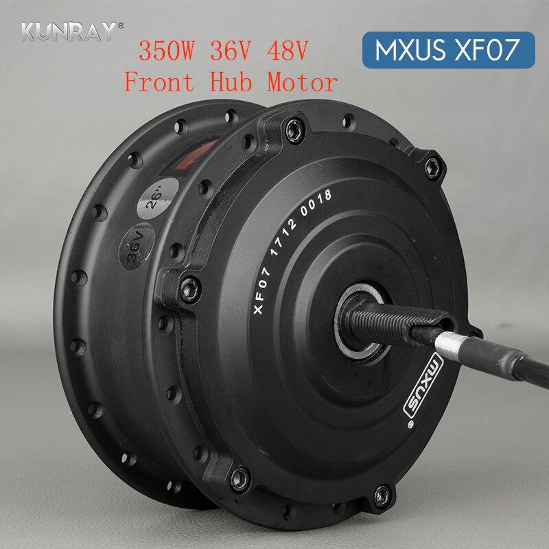 36 V 48 V 350 W Brushless Bicicleta Elétrica Gear Motor Da Roda Hub 26 polegada-28 polegada 700C Bicicleta raios Da Roda Dianteira Kit de conversão de Motores
