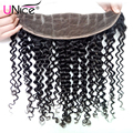 7A Brazilian Curly Frontal Lace Closure 13x4 Ear to Ear Brazilian Lace Frontal Closure Virgin Brazilian Hair Kinky Curly Frontal