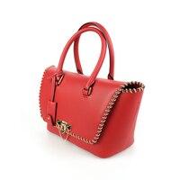 Youmeiyoupin из коровьей кожи модные однотонные HASP красные женские мешок ведро сумка работы с надписью элемент застежкой закрытия сумка
