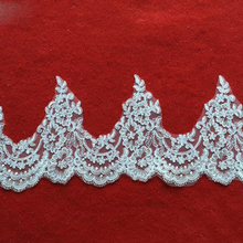 19cm DIY Crafts Lace Trim Ribbon Fabric Sewing Suppies Decoration Accessories For Handicrafts YYN537