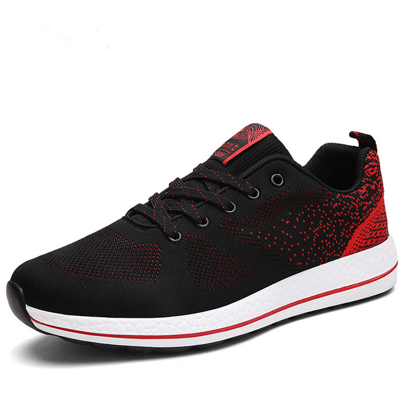 big size 39 48 mesh sport flat mens shoes casual trainers