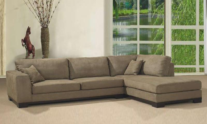 Free Shipping 2013 Living Room Fabric Sofa L Shaped With Detachable Wash  Fabric Corner Sofa, Best Fabric For Sofa F9047