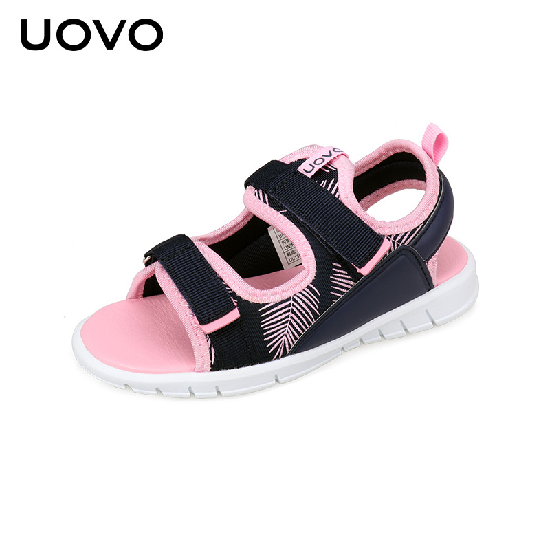 Kids Sandals For Boys And Girls UOVO Summer Shoes Flat Light Weight Sole Children Sandals High Quality Eur Size #25-31