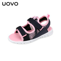 Kids Sandals For Boys And Girls UOVO Summer Shoes Flat Light Weight Sole Children Sandals High Quality Eur Size #25 31