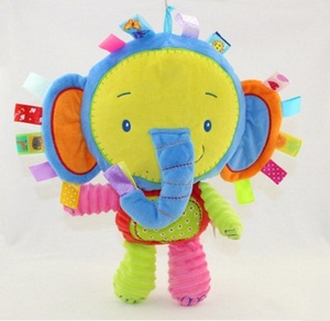 Image 5 - 8 stilleri bebek oyuncakları çıngıraklar pasifize bebek peluş bebek çıngıraklar oyuncaklar hayvan el Bells yenidoğan hayvan fil/maymun/aslan /tavşan