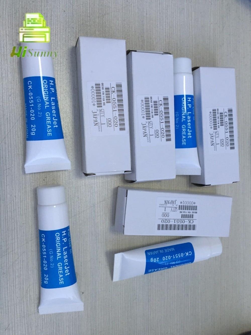 4 шт CK-0551-020 для HP 4015 4014 600 601 602 фузер пленка рукав смазка