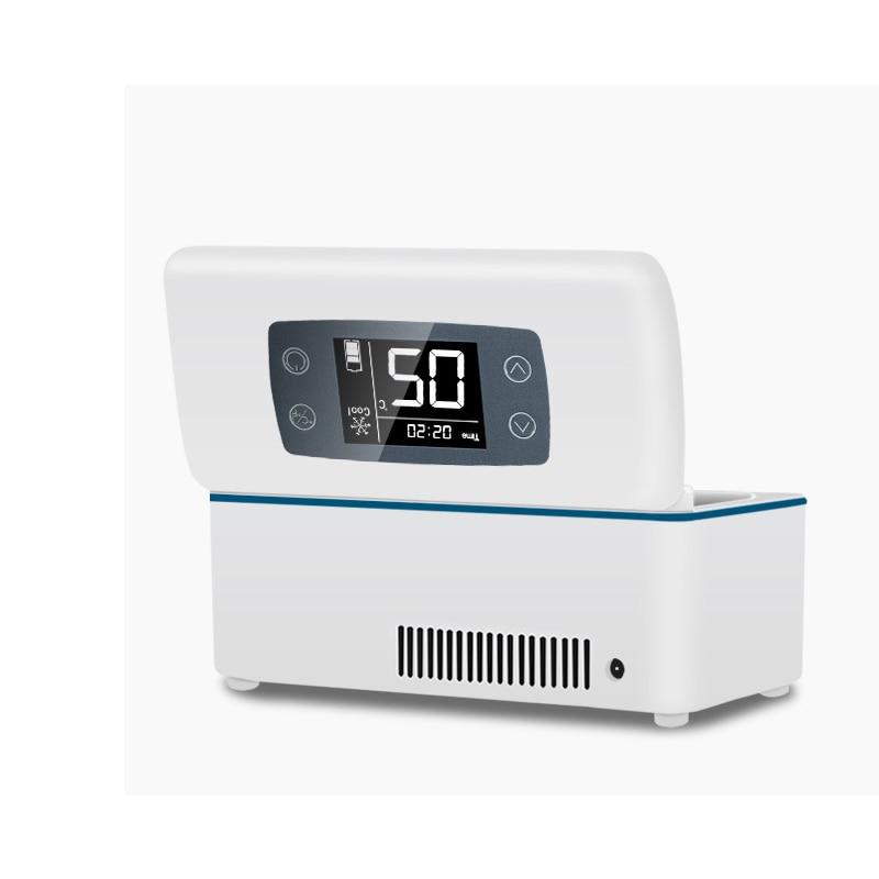 Buitenshuis Voyage Small Fridge Portebla Insulino Vaccin Blood Interferon Cooler Case Drogo Reefer DC12V AC100-240V Dison Cooler