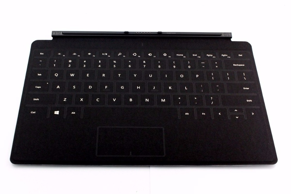 Brand New Black Microsoft Surface RT Pro 1 2 Touch Cover Keyboard with Backlight brand new black