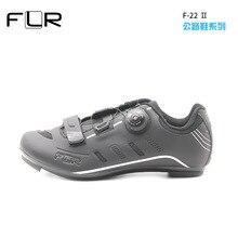 цена FLR F22 cycling shoes mtb man women racing bicycle MTB shoes mountain bike sneakers professional self-locking breathable онлайн в 2017 году
