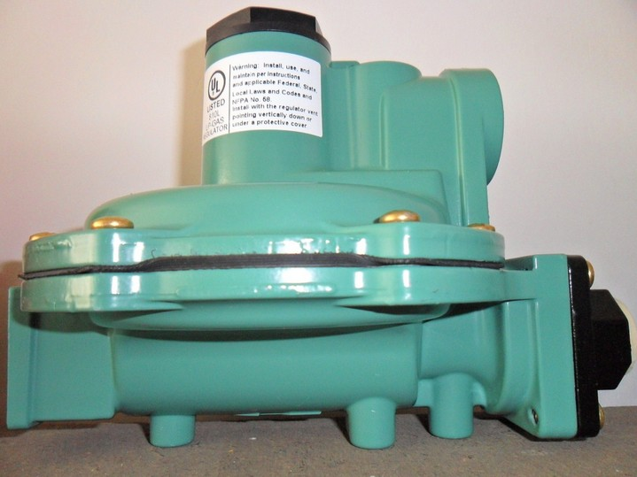 R622-DFF two medium-pressure regulator FISHER gas control valve burner valve цена