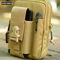 Saco Carteira Pacote de Cintura Militar assalto Combate Lazer Casual Carteira Caixa Do Telefone Organizador Cordura 1000D Nylon