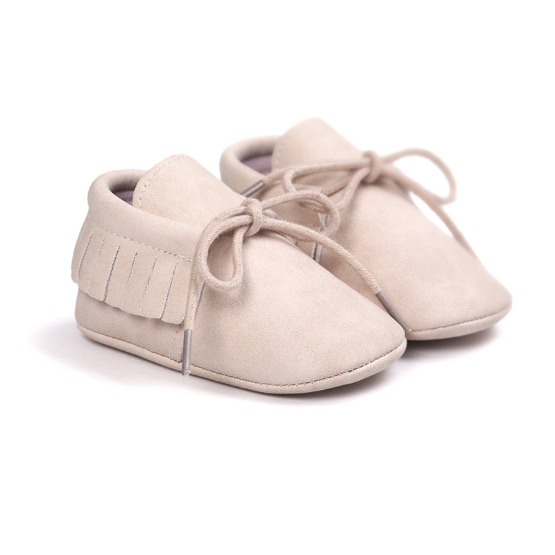 Pretty Milk Colors Boys Girls Shoes Soft Bottom Shoes Toddler Shoes Baby Moccasins Shoes.CX45C