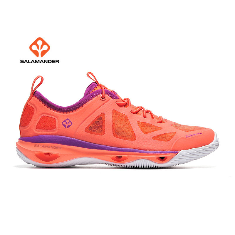 SALAMANDER Women's Outdoor Hiking Trekking Sneakers Shoes For Women Sports Aqua Climbing Mountain Shoes Sneaker Woman Senderismo humtto women s leather outdoor hiking trekking sneakers shoes for women purple sports climbing mountain shoes woman sneaker