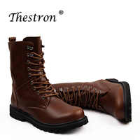Best Selling Autumn Winter Men's Working Boots Size 37-48 Brand High Top Working Safety Boots High Quality Warm Winter Boot Men
