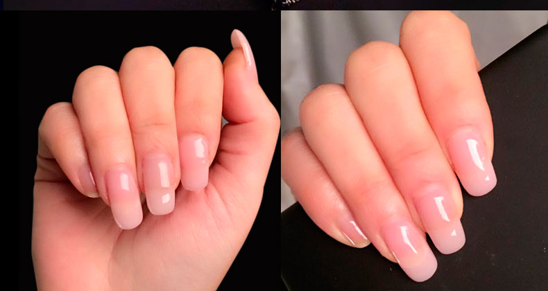 Builder Gel Nail Polish Varnish Led Uv For Extensions Long Hard Lacquer Manicure Yayoge 14g Cover Pink False Tips In From Beauty